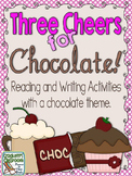 Three Cheers for Chocolate, Reading and Writing activities
