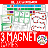 Three Games for Reviewing Magnets
