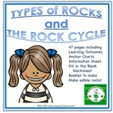 Three Types of Rocks and the Rock Cycle