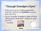 """Through Grandpa's Eyes"" Reading Comprehension Strategies-"