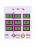 Tic Tac Toe Smart Board Game -CUSTOM VERSION