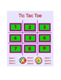 Tic Tac Toe Smart Board Game