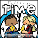 Time After Time {Telling Time to the Hour & Half Hour}
