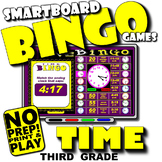 Time Bingo with Interactive Whiteboard Option