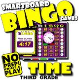 Time Bingo with Interactive Whiteboard Option