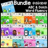 Dolch Word Fluency:  Time Me!  BUNDLE