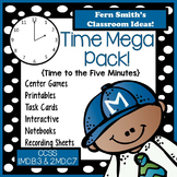 Time Mega Pack - Printables Center Games Task Cards Record