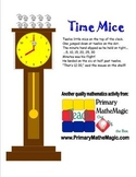 Time Mice Telling Time to the Hour and Half Hour
