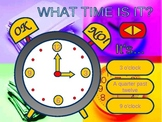 Time. Tell the time, please.