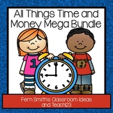 Time and Money - Math and Literacy Lessons Bundle