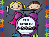 Rhyming Activities - Time to Rhyme BUNDLE