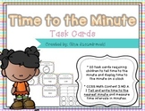Time to the Minute Task Cards