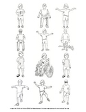 Tiny Set of Tai Chi Moves All on One Page