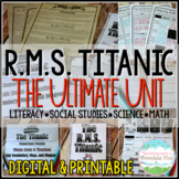 Titanic Bundle Pack (Tickets, PowerPoint, Quiz, Choice Boa