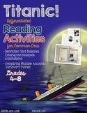 Titanic! NO PREP Nonfiction Text Features & Comparing Mult