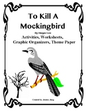 To Kill A Mockingbird: Activities, Graphic Organizers, The