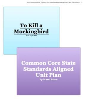 To Kill a Mockingbird - Common Core State Standards Aligne