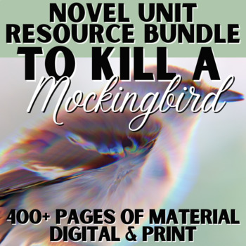 To Kill a Mockingbird Literature Guide: CCCS Aligned Teach