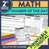 Today's Number / Number of the Day 2nd Grade Common Core D