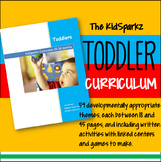 Toddler / Young Preschool Curriculum Activities for Year -