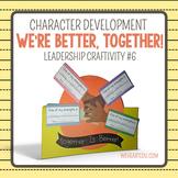We're Better Together! {Leadership Craftivity 6}