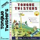 Tongue Twisters Sample Freebie