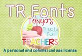 Tonya's Treats for Teachers FONTS