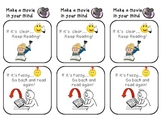 Tool Cards for Reading Workshop