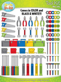 Tool Kit Clip Art Set  — Over 110 Graphics!