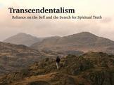 Transcendentalism PowerPoint- The American Transcendentalists
