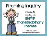 Transdisciplinary Themes Poster Set, IB/PYP Programme