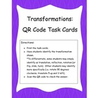 Transformations: QR Code Task Cards