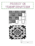 Transformations in a Coordinate Plane Project (CCSS 8.G.1,