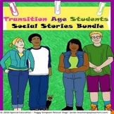 Transition Age Students' 14 Social Stories SPED/Autism/PDD/ELL