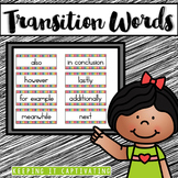 Transitions Word Wall