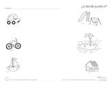 Transporation / Transporte - Spanish Lesson (Challenge: Me