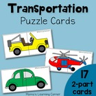 Transportation Puzzle Cards