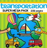 Transportation BIG Pack - 219 pages