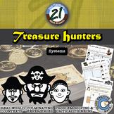 Treasure Hunters -- System of Equations & Inequalities Pir