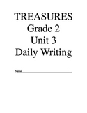 Treasures Reading Series Second Grade Writing Prompts Unit 3