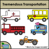 Tremendous Transportation Clip Art