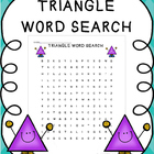 Triangle Word Search