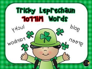 Tricky Leprechaun - Mirror Words