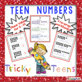 Tricky Teens - 3 No Prep Workbooks!
