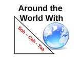 Trig Ratio:  Around the World With Soh-Cah-Toa Game