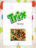Trix Mix Cereal Math Level 1