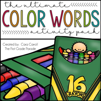 True Colors {A Color Word Identification Practice Packet}