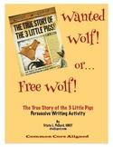 True Story of the 3 Little Pigs (Jon Scieska): Wanted or F