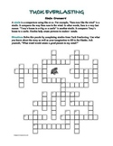Tuck Everlasting: Simile Crossword--All Clues Are Similes!