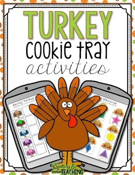 Turkey Cookie Tray Activities